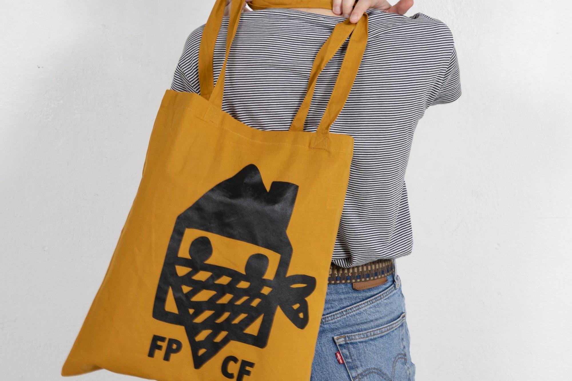 Color tote bag – Curcuma